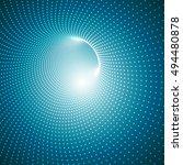 vector abstract digital... | Shutterstock .eps vector #494480878