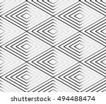 abstract geometric background... | Shutterstock .eps vector #494488474