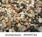 pea sized river gravel | Shutterstock . vector #49449763