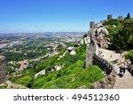 sintra  portugal  11 june 2016...   Shutterstock . vector #494512360