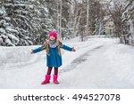 Cute Six Year Old Girl Dressed...
