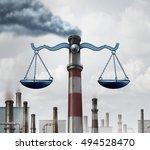 environmental law symbol as an...   Shutterstock . vector #494528470