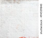 primed canvas oil painting | Shutterstock . vector #494539840