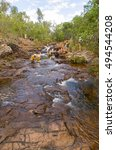 Small photo of Litchfield, Australia-July 17, 2005. Buley rock-holes are a series of rock-holes popular with tourists and locals alike, located in Litchfield National Park of the Northern Territory.