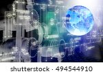 industrial technology | Shutterstock . vector #494544910