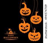 vector illustrations of orange...   Shutterstock .eps vector #494574709
