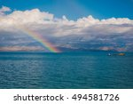 Stunning Rainbow View Over The...