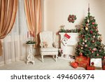 Christmas And New Year Room...
