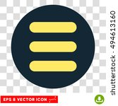 stack round icon. vector eps...