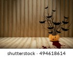 halloween pumpkin | Shutterstock . vector #494618614