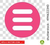 stack round icon. vector eps...