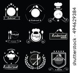 set of badges and labels... | Shutterstock .eps vector #494629384