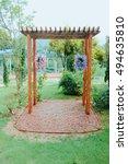 A Handmade Wooden Arch...