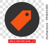 tag round icon. vector eps...   Shutterstock .eps vector #494641483