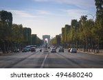 paris  france   september 2016  ... | Shutterstock . vector #494680240