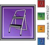 step ladder   Shutterstock .eps vector #49473127