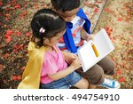 study education training... | Shutterstock . vector #494754910