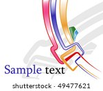 the raster abstract color... | Shutterstock . vector #49477621