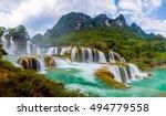 Ban Gioc Waterfall In Cao Bang...