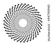 Pattern Dots Abstract Circular...