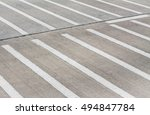 crosswalk. zebra sign.... | Shutterstock . vector #494847784
