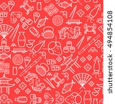 Line Seamless Pattern For...