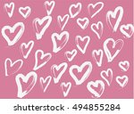 love vector pattern | Shutterstock .eps vector #494855284