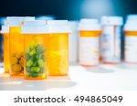 Pill Bottle Of Prescription...