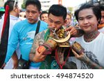 phuket  thailand   october 2016 ... | Shutterstock . vector #494874520