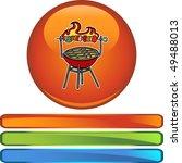 grill | Shutterstock . vector #49488013