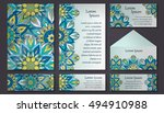 invitation card collection.... | Shutterstock .eps vector #494910988
