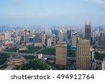 shanghai   aug 7  2015 ... | Shutterstock . vector #494912764