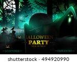 halloween.  | Shutterstock .eps vector #494920990