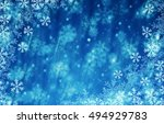 christmas and happy new year... | Shutterstock . vector #494929783