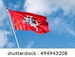 historical lithuanian flag... | Shutterstock . vector #494943208