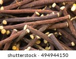 detail of liquorice stick... | Shutterstock . vector #494944150