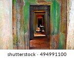 siem reap  cambodia   august... | Shutterstock . vector #494991100
