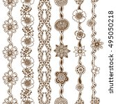 vector set vintage ornate...
