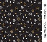 Vector Seamless Winter Pattern...