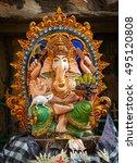 bali  indonesia   circa sep... | Shutterstock . vector #495120808