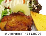 chicken steak | Shutterstock . vector #495138709