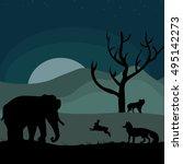 illustrative vector image world ...   Shutterstock .eps vector #495142273