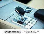 detail of modern car interior ...   Shutterstock . vector #495164674