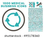 rotate cw icon with 1000... | Shutterstock .eps vector #495178360