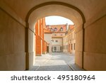 warsaw. old city. | Shutterstock . vector #495180964