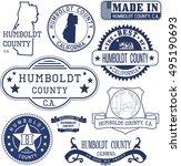 humboldt county  california.... | Shutterstock .eps vector #495190693