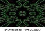 abstract background laser light ...   Shutterstock . vector #495202000