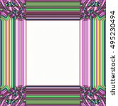 picture frame abstract... | Shutterstock . vector #495230494