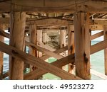 Fishing Pier Structure. The...