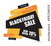 black friday | Shutterstock .eps vector #495234019